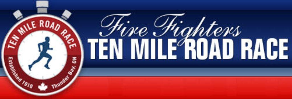 Fire Fighter S Ten Mile Road Race 2016 In Thunder Bay On